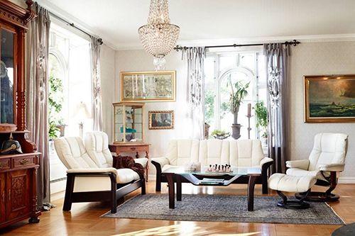 Stressless Windsor Sofa by Ekornes - High Back - Custom Ord