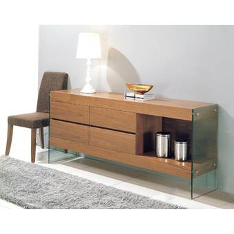 Orren Ellis Womack Sideboard & Reviews | Wayfa