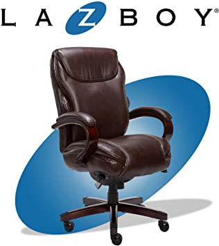 Amazon.com: La-Z-Boy Hyland Executive Office Chair with AIR .