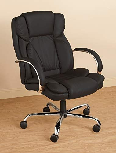 Executive Leather Office Chair (Black) | Executive leather office .