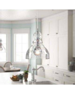 Hot Deal! 15% Off Ebern Designs Yarger 1 - Light Single Bell .