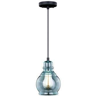 Yarger 1 Light Single Bell Pendants