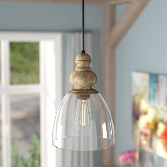 Laurel Foundry Modern Farmhouse Lemelle 1-Light Single Bell .