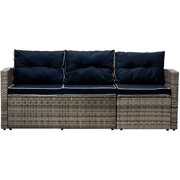 Longshore Tides Clifford Patio Sofa with Cushions | Wayfa