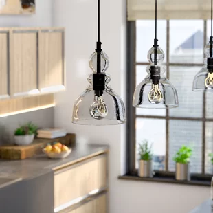 Orren Ellis Zachery 5 - Light Cluster Cylinder LED Pendant .